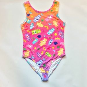 Girls Care Bears Bathing Suit 11/12